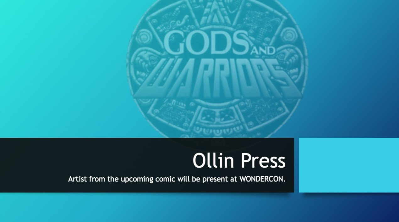 ollin press at wondercon